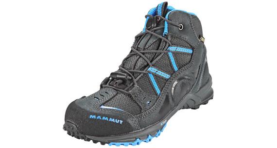 Mammut Nova Mid GTX Shoes Kids graphite/atlantic